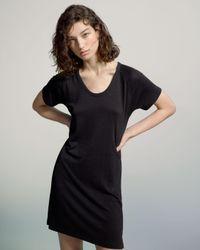 Rag & Bone   Black Raglan Dress   Lyst