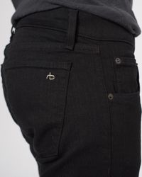 Rag & Bone - Black Fit 1 Jean for Men - Lyst