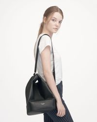 Rag & Bone - Black Walker Leather Sling Bucket Bag - Lyst