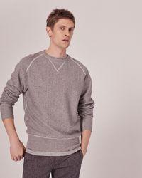 Rag & Bone | Gray Racer Sweatshirt for Men | Lyst