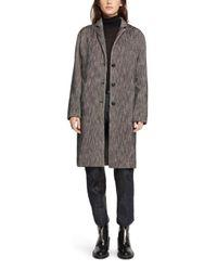 Rag & Bone | Black Blankett Coat | Lyst