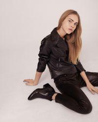 Rag & Bone   Black Mercer Jacket- Leather   Lyst