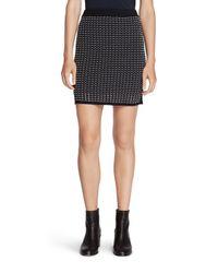 Rag & Bone | Black Ingrid Sweater Skirt | Lyst