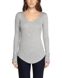Rag & Bone - Gray Francois Long Sleeve - Lyst