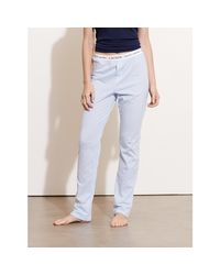 Pink Pony | Blue Striped Jersey Pajama Pant | Lyst