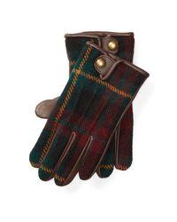 Polo Ralph Lauren | Multicolor Tartan Touch Screen Gloves for Men | Lyst