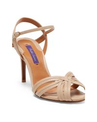 Ralph Lauren - Multicolor Astraia Nappa Leather Sandal - Lyst