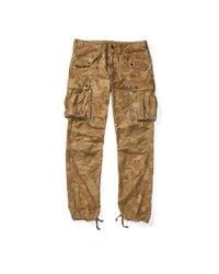 RRL - Multicolor Camo Cotton-blend Cargo Pant for Men - Lyst