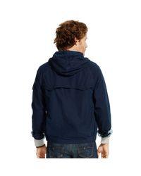 Polo Ralph Lauren | Blue Cotton-blend Windbreaker for Men | Lyst