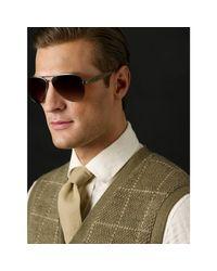 Ralph Lauren - Metallic Safari Pilot Sunglasses for Men - Lyst