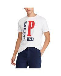 Polo Ralph Lauren Blue Cp-93 Classic Fit T-shirt for men