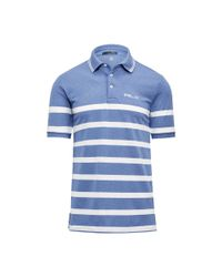Ralph Lauren - Blue Custom Fit Tech Pique Polo for Men - Lyst