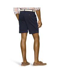 Polo Ralph Lauren - Blue Classic-fit Pleated Short for Men - Lyst