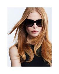 Ralph Lauren - Black Oversized Square Sunglasses - Lyst