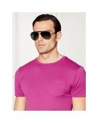 Pink Pony - Metallic Nautical Pilot Sunglasses for Men - Lyst