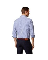 Ralph Lauren Purple Label - Blue Bengal Stripe Aston Shirt for Men - Lyst