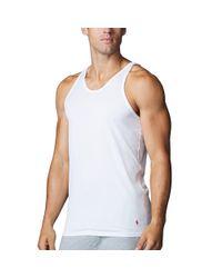 Polo Ralph Lauren - White Supreme Comfort Tank 2 Pack for Men - Lyst