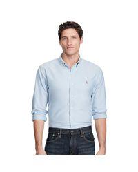 Polo Ralph Lauren - Blue Sports Shirt for Men - Lyst