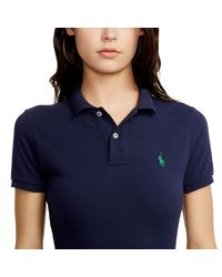 Polo Ralph Lauren - Blue Graphic Racerback Tank - Lyst