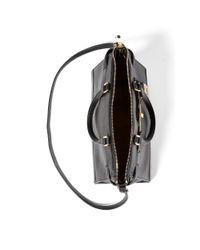 Ralph Lauren - Black Leather Darwin Satchel - Lyst