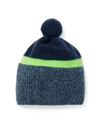 Polo Ralph Lauren | Blue Merino Wool Pom-pom Hat for Men | Lyst