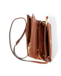 Ralph Lauren - Brown Mini Kaelyn Crossbody Bag - Lyst