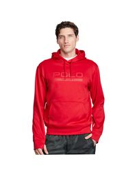 Pink Pony | Red Tech Fleece Hoodie for Men | Lyst