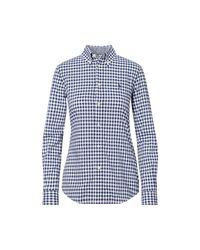 Polo Ralph Lauren   Blue Custom-fit Cotton Poplin Shirt   Lyst