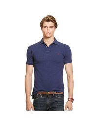 new products 5177a b17d5 Polo Ralph Lauren Slim-fit Polohemd Aus Piqué in Blue for ...