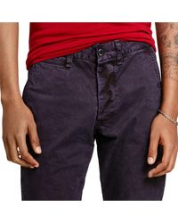 Denim & Supply Ralph Lauren - Blue Super-slim Officer's Chino for Men - Lyst