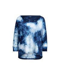 Polo Ralph Lauren | Blue Indigo Cotton Tee | Lyst
