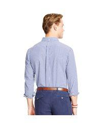 Polo Ralph Lauren Blue Sports Shirt for men