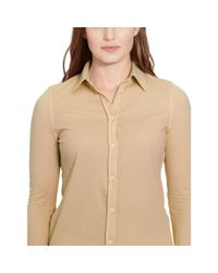 Pink Pony - Natural Cotton Piqué Shirt - Lyst