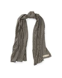 Ralph Lauren - Multicolor Houndstooth Cashmere Scarf - Lyst