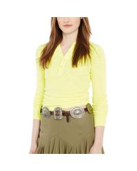 Polo Ralph Lauren - Brown Leather Concho Belt - Lyst