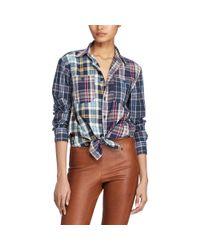 Polo Ralph Lauren - Blue Shirt - Lyst