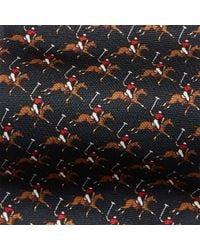 Polo Ralph Lauren - Blue Polo Player Silk Narrow Tie for Men - Lyst