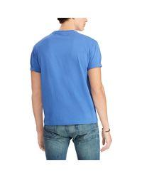 Pink Pony Blue Classic Fit Pocket T-shirt for men