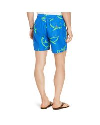 Polo Ralph Lauren - Multicolor Traveler Shark Swim Trunks for Men - Lyst
