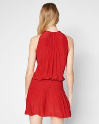 Ramy Brook - Red Paris Sleeveless Dress - Lyst