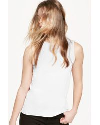 Rebecca Minkoff | White Vic Muscle Tank | Lyst