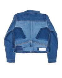 Re/done - Blue Reconstructed Jean Jacket - Lyst