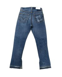Re/done - Blue No. 26hre150795 - Lyst