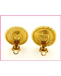 Chanel - Metallic Earring Pearl Used Y1133 - Lyst