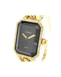 Chanel - Black Premi?re L Diamond Bezel Watch Quartz K18yg (750) X Diamond - Lyst