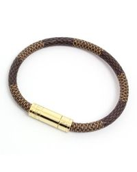 Louis Vuitton - Brown Bracelet Keep It M6139f - Lyst