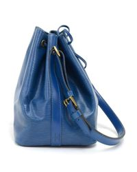 Louis Vuitton - Vintage Petit Noe Blue Epi Leather Shoulder Bag - Lyst