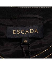 ESCADA - Collarless Jacket Black 36 - Lyst