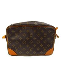 Louis Vuitton - Brown Auth Trocadero 27 Shoulder Bag M51274 Monogram Used Vintage - Lyst