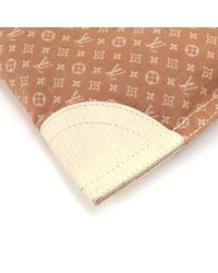 Louis Vuitton - Natural Sac Plat Tanger Brown Mini Lin Monogram Canvas Tote Handbag - Lyst